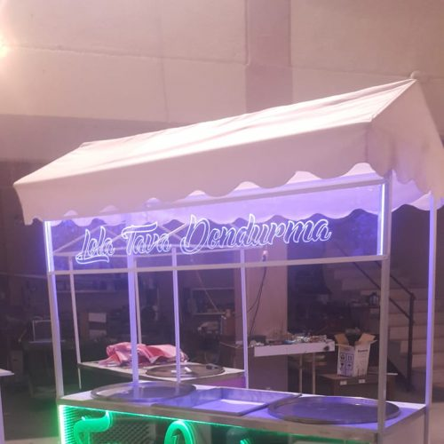 Tava Dondurma Makinası